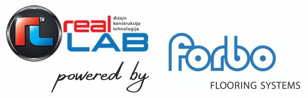 Logo RealLab powered by Forbo-2