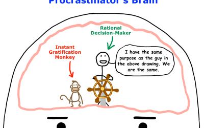 Procrastination and Preferences