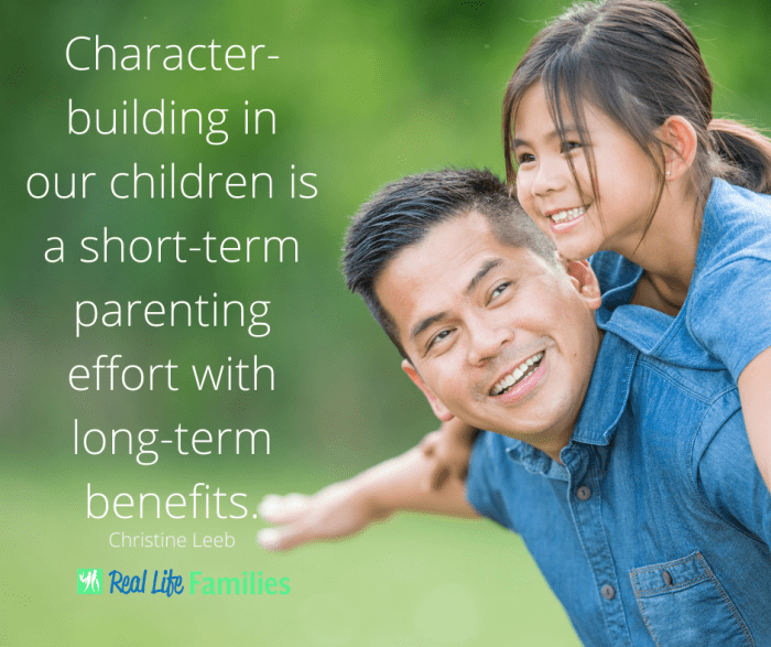 Character building in our children meme UPDATED