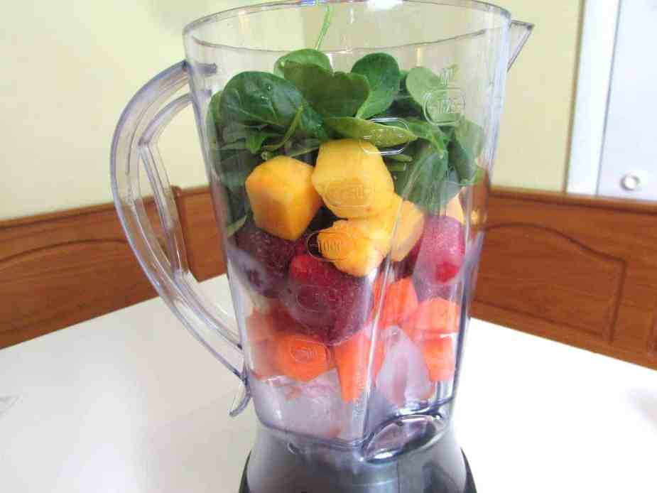 easy healthy spring smoothie