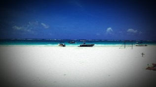 Fisherman's beach Tulum, Mexico