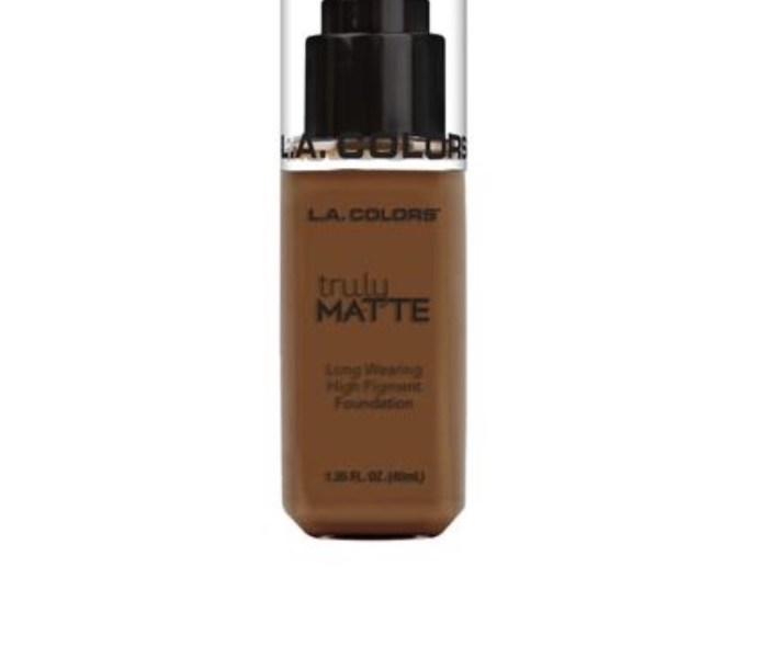 LA Colors Truly Matte Foundation Review & First impressions