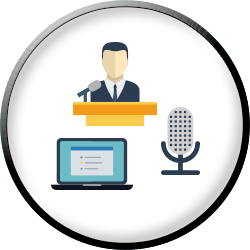 Really Social Public Speaking Services (icon)