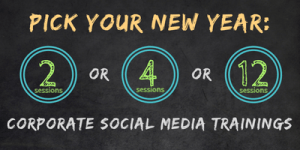 2017 Corporate Social Media Training Packages | Really Social