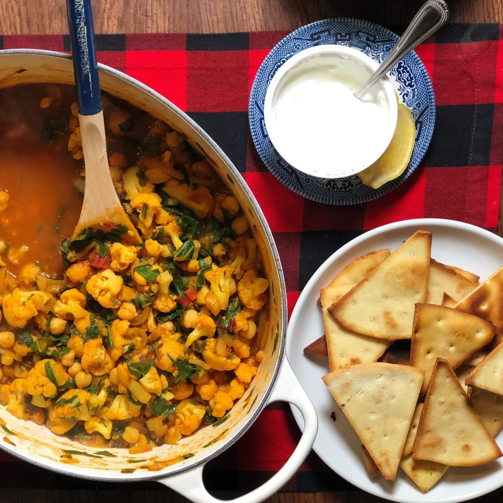 Chickpea Cauliflower Tagine Blue Apron Review Really Into This Blog
