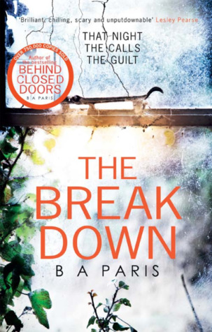 The Breakdown by B. A. Paris Book Review