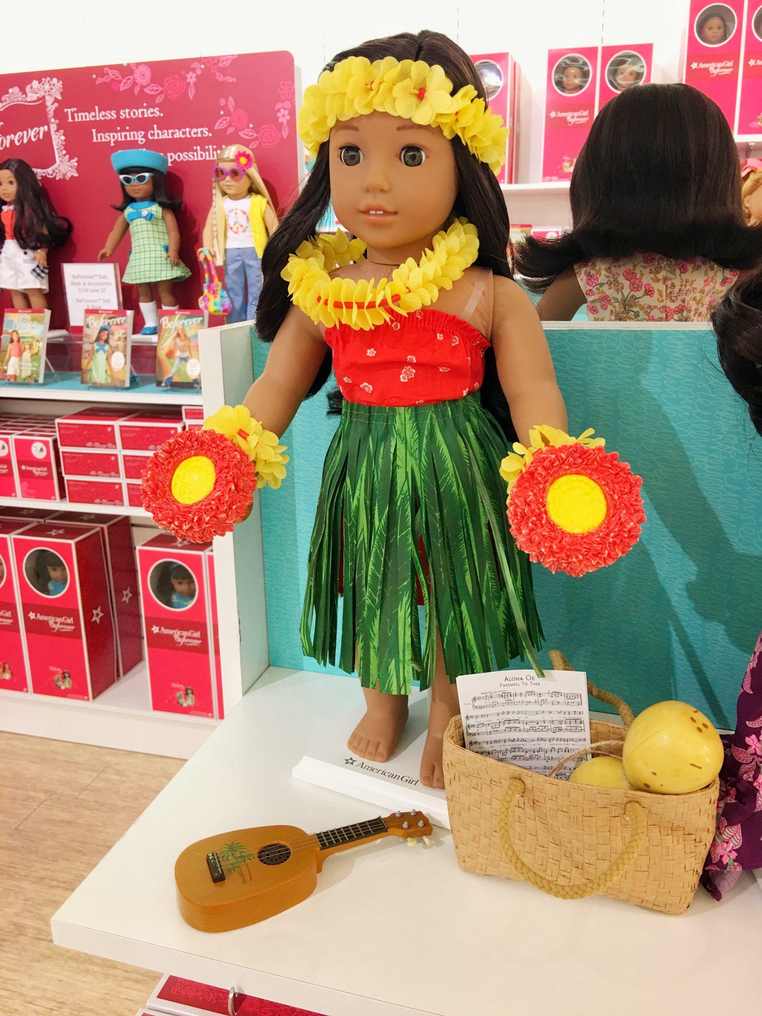 Alice Nanea Mitchell American Girl at Washington Square Mall