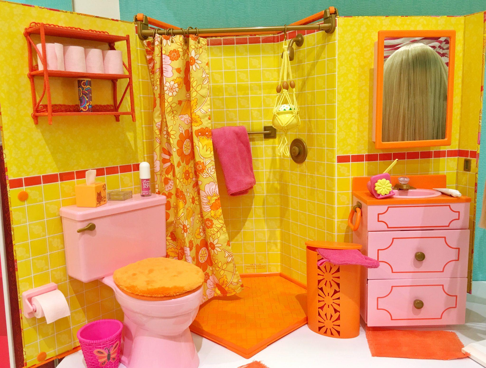 Bathroom American Girl at Washington Square Mall