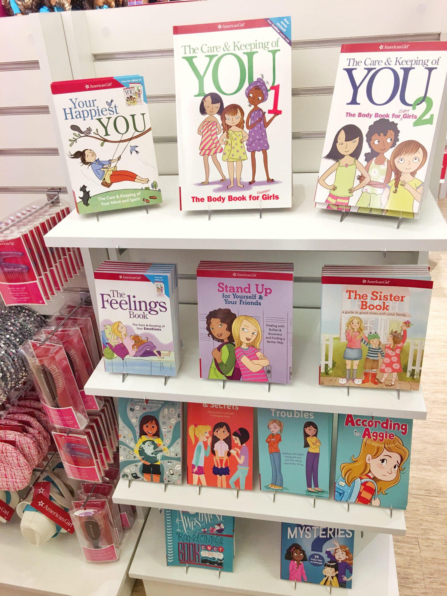 Books American Girl at Washington Square Mall