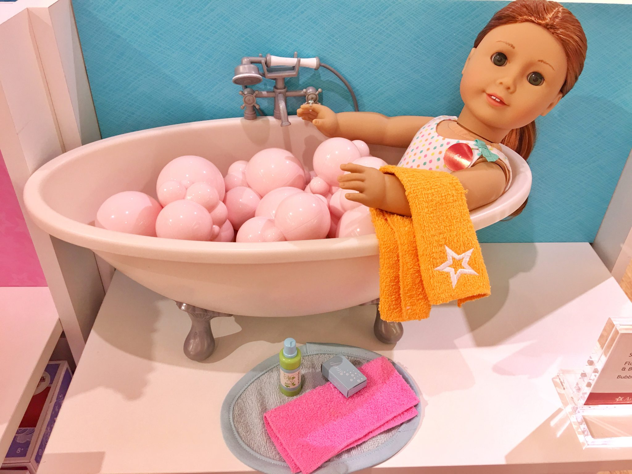 Bubble Bath Set American Girl at Washington Square Mall