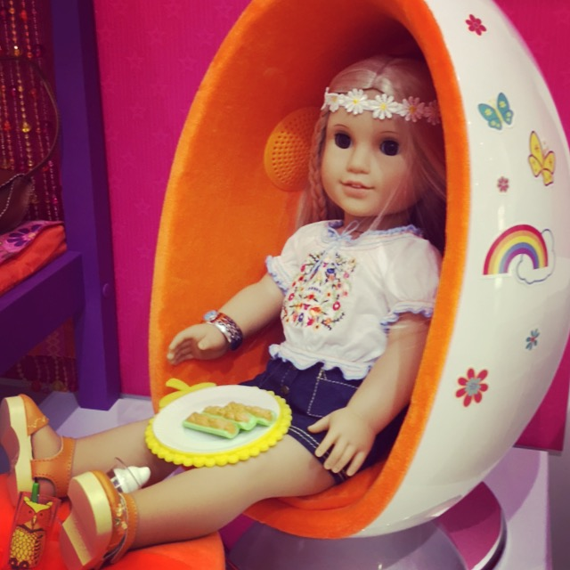 Julie Egg Chair American Girl at Washington Square Mall