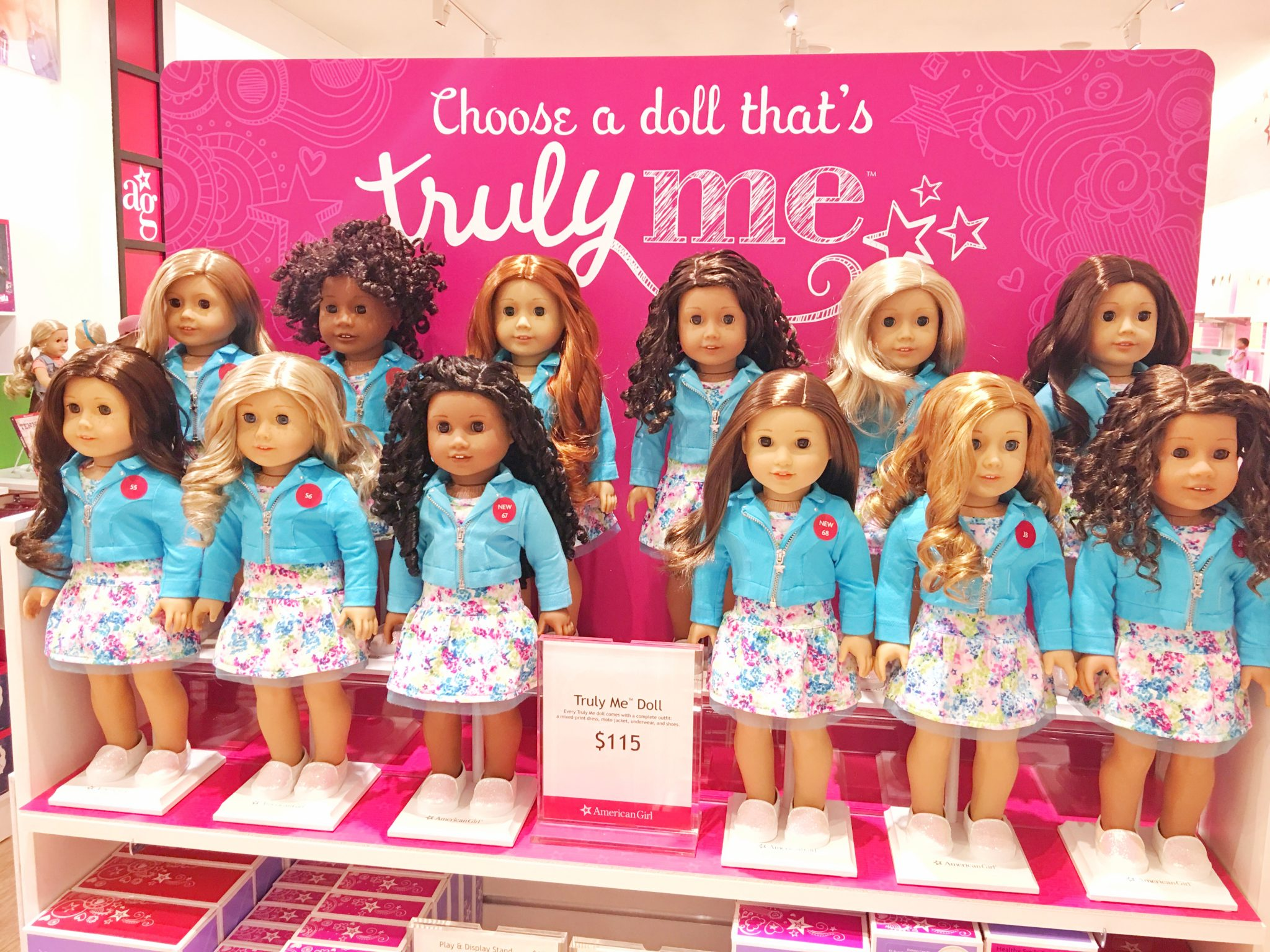 Truly Me Doll American Girl at Washington Square Mall