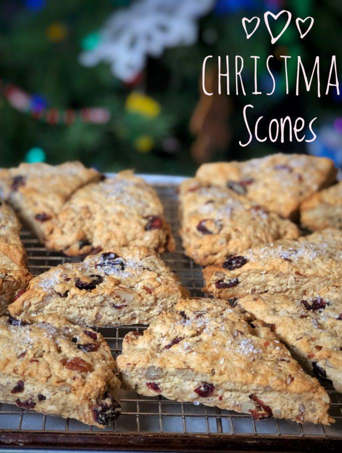 King Arthur Flour's Christmas Scones