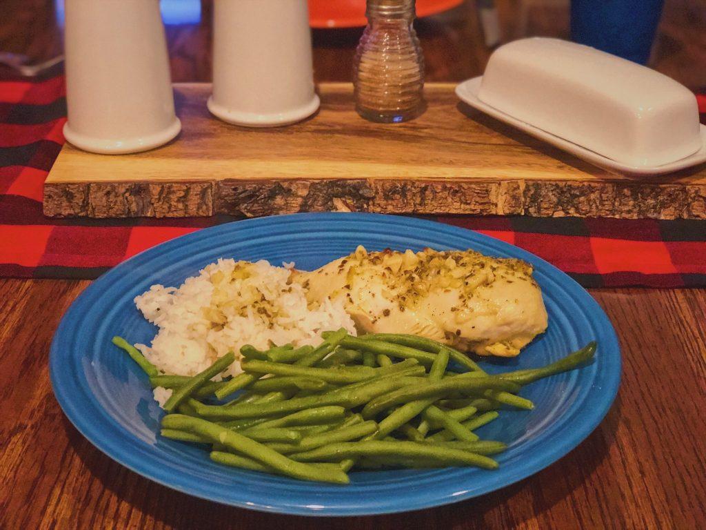 Lemon Chicken Breasts Recipe Plate