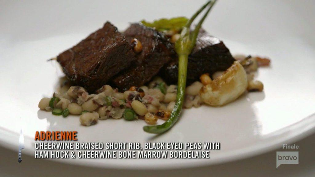 Adrienne Cheatham Cheerwine Shortrib Season 15 Top Chef Finale