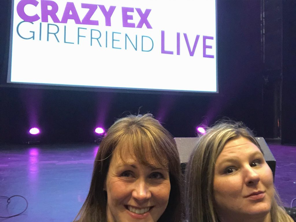 Crazy Ex-Girlfriend Live Tour Really Into This Blog