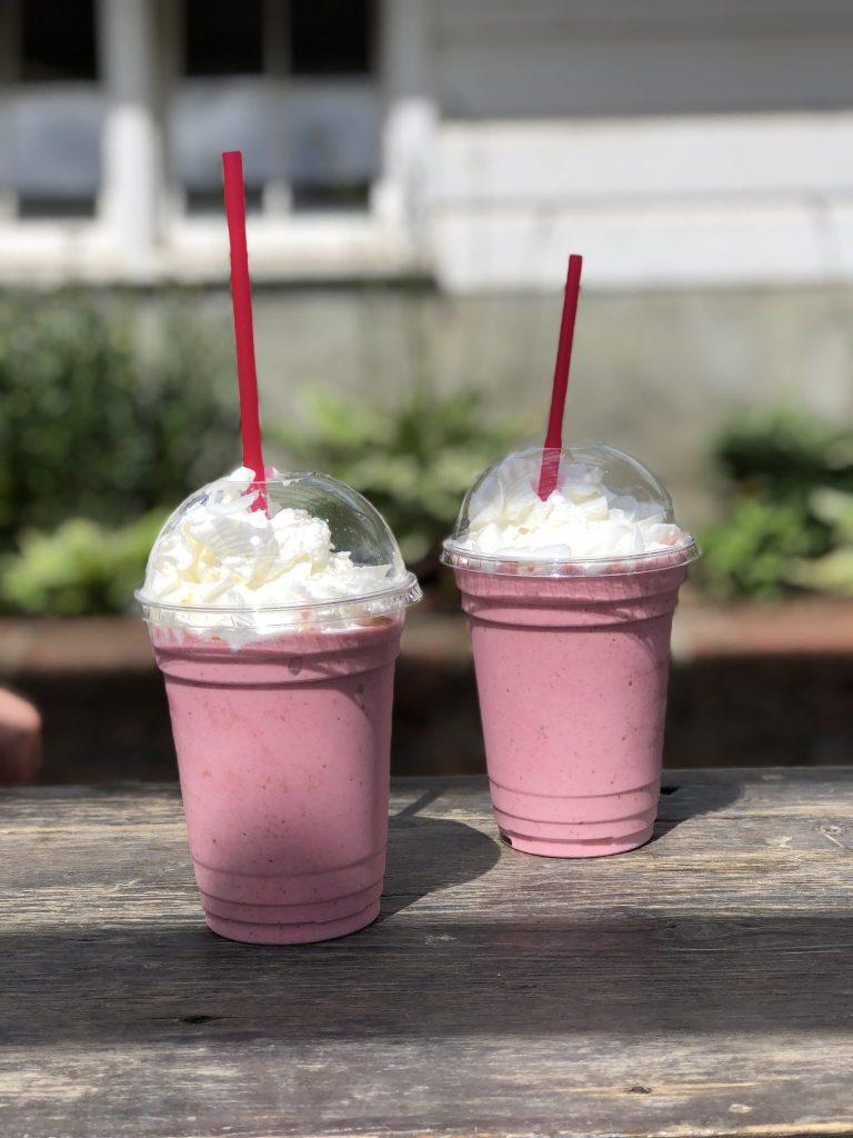 Hoffman Farms Store Really Into This Berry Milkshake