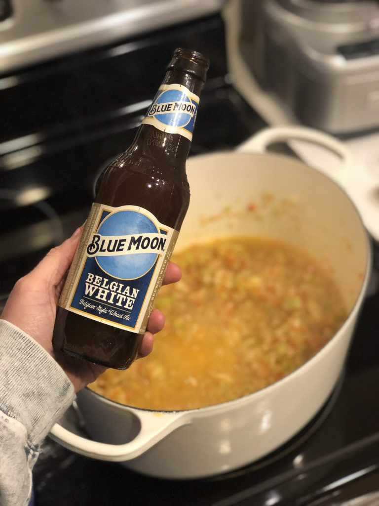 Beer Cheese Soup Really Into This Blue Moon Beer