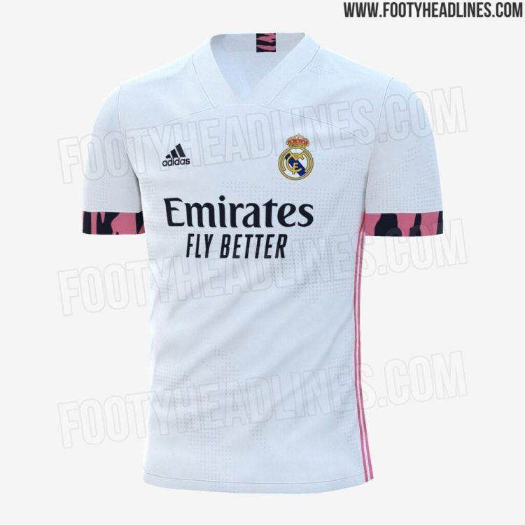 Real Madrid 2020-21 home kit LEAKED!