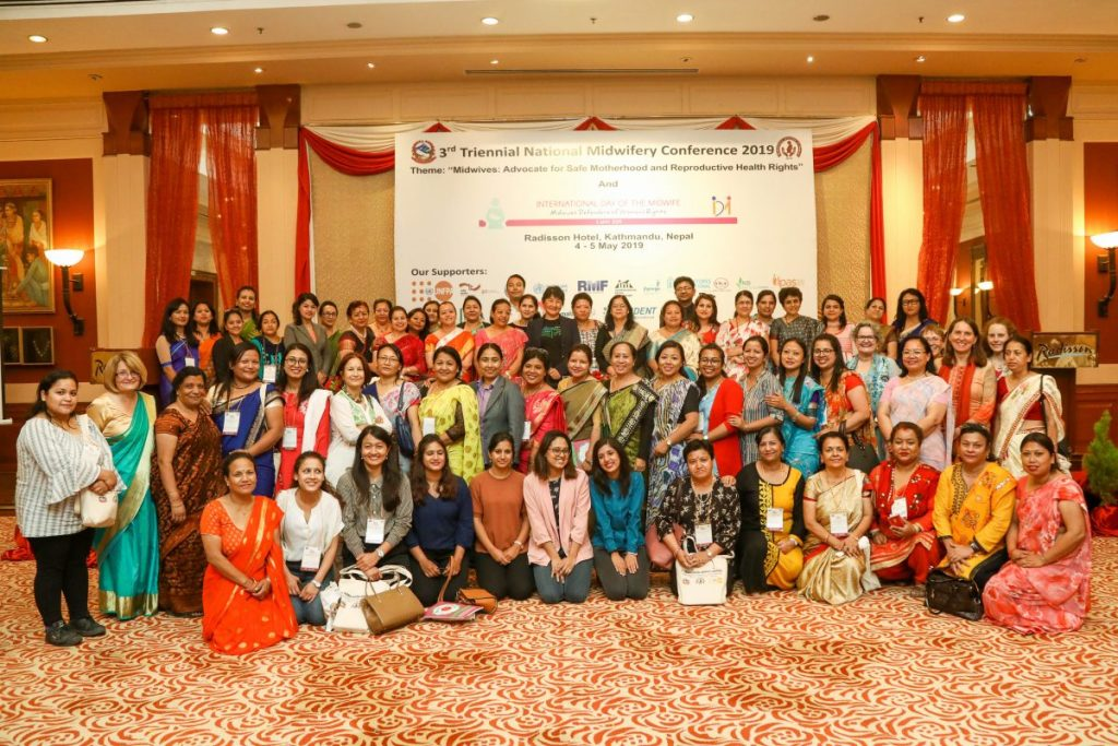 Participants at the Third Triennial National Midwifery Conference