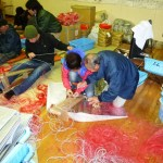 Making Fishery Nets in Fukkiurau