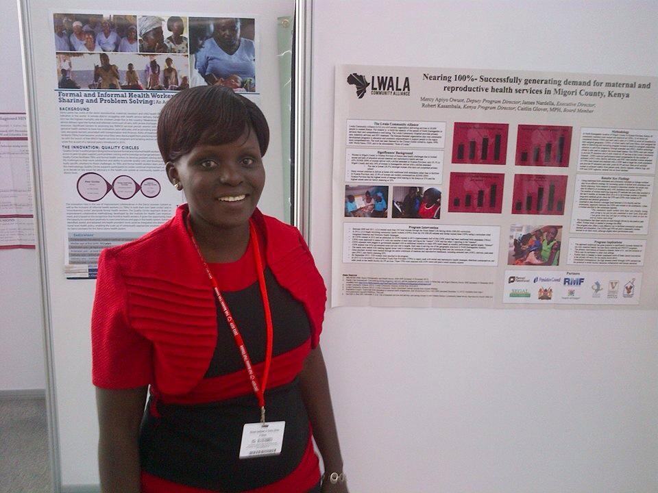 Lwala Deputy Program Director Mercy Owuor