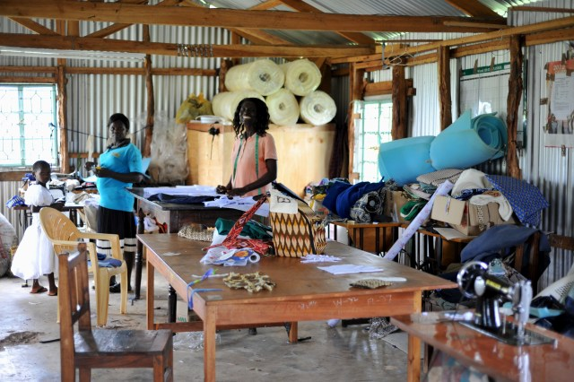 Vocational Training Tailoring Workroom