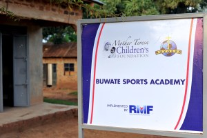 Buwate Sports Academy Sign