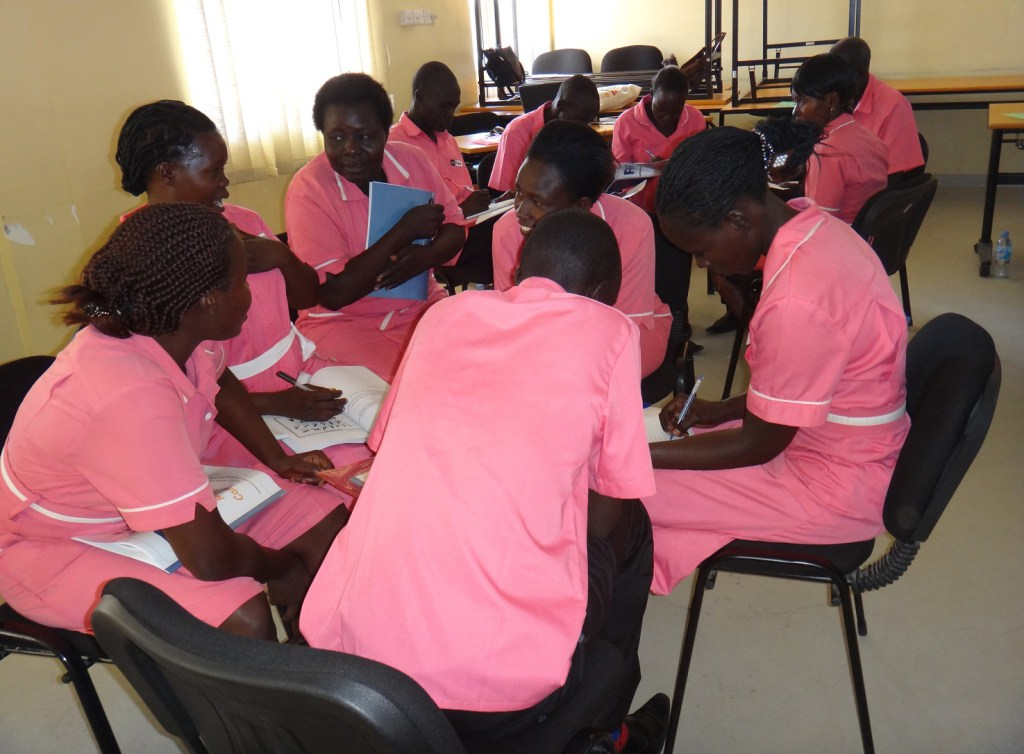 RMC training for the second year midwifery students