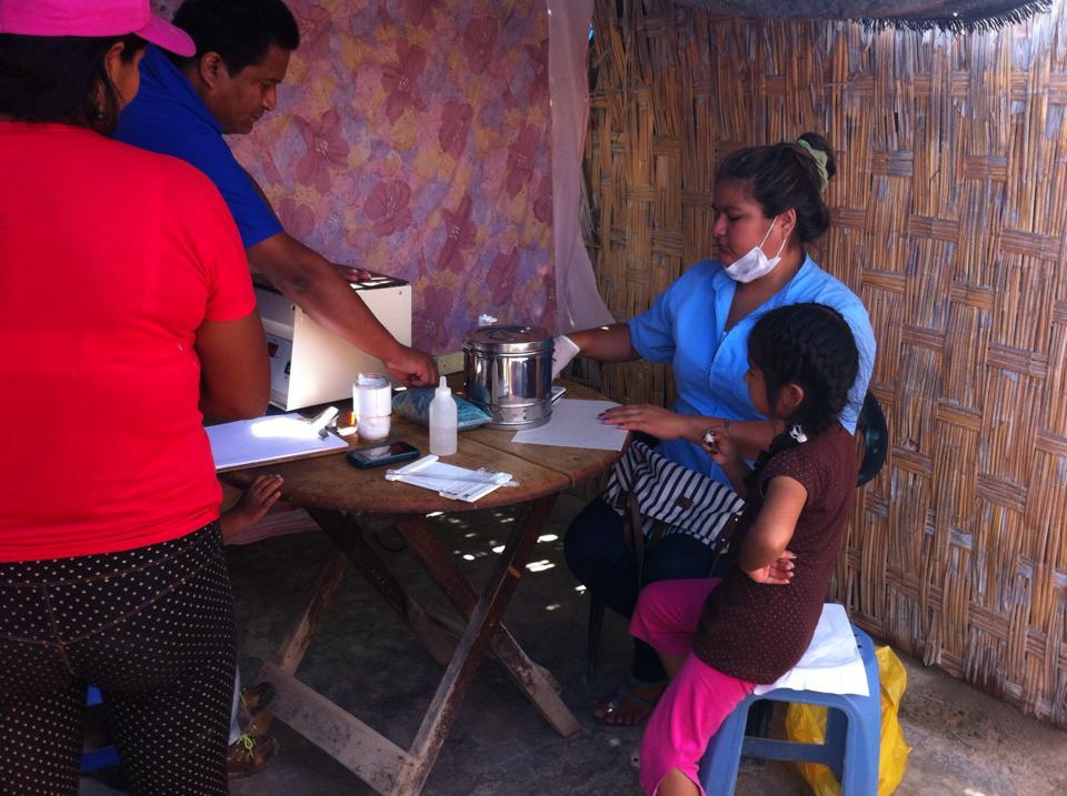 Peru campana de salud
