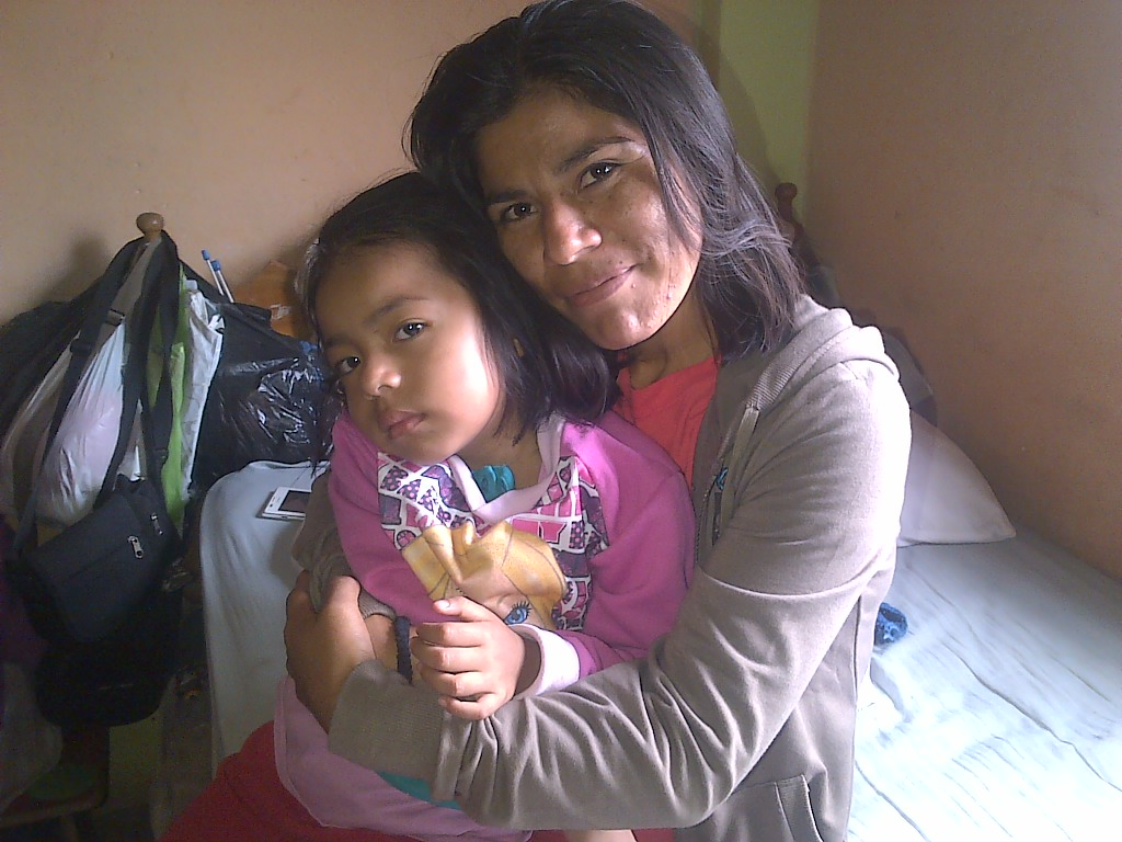 Mother and child treated in peru