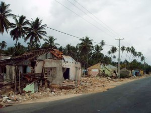 destruction in the Philippines following Typhoon Haiyan