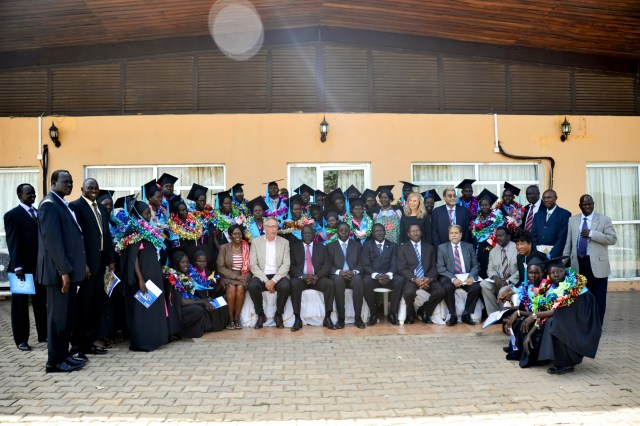 first graduating class of the juba college of nursing and midwifery