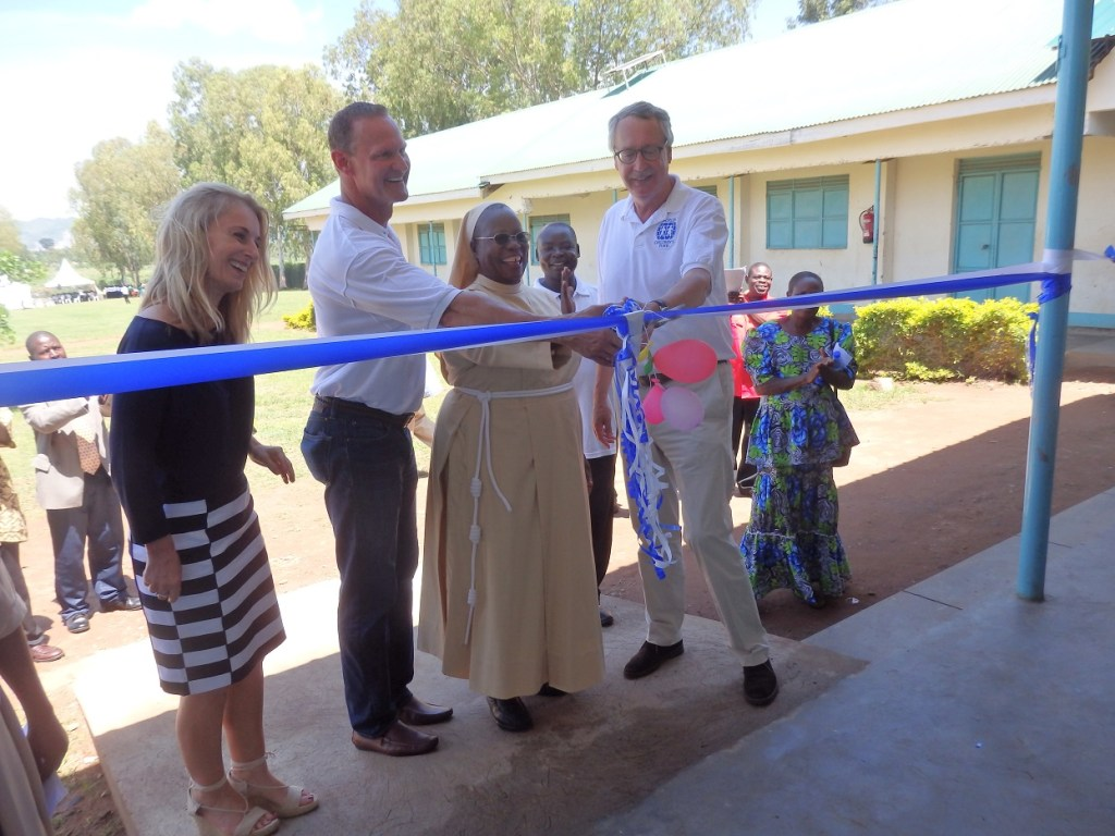 WCF cuts a ribbon at inaugration ceremony