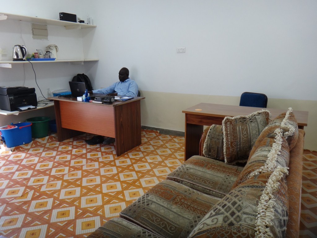 well-furnished interior of the RMF office after improvement