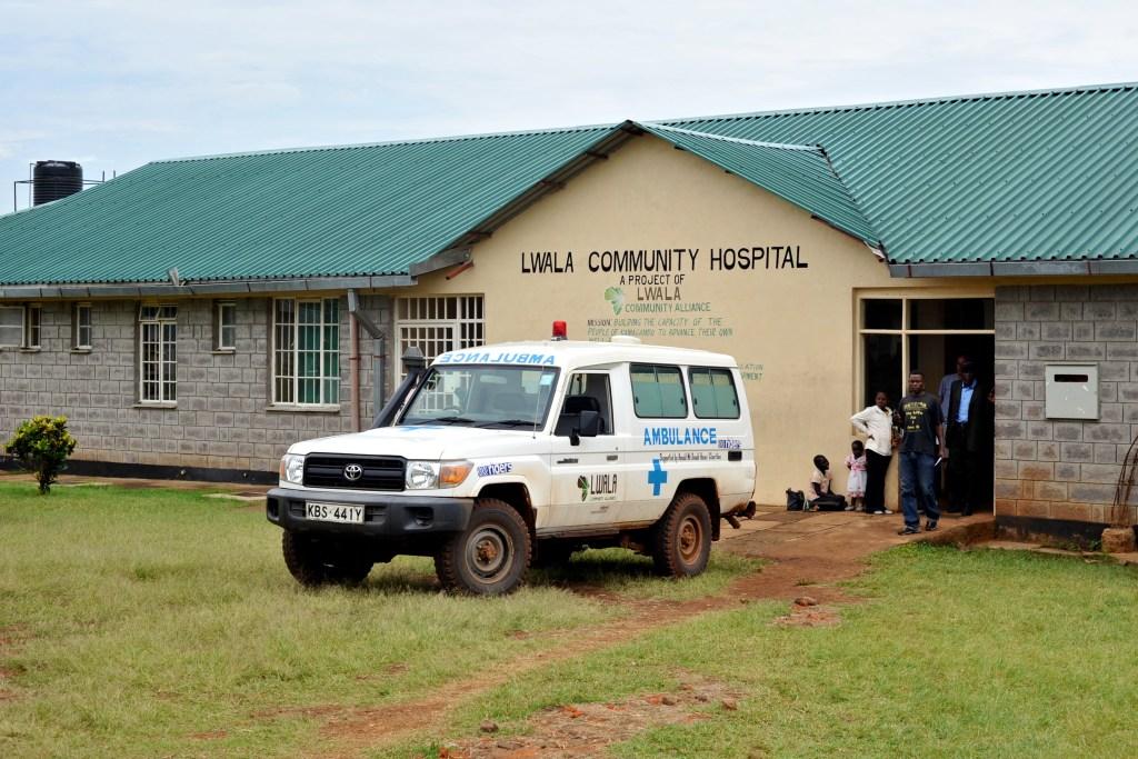 lwala community hospital ambulance