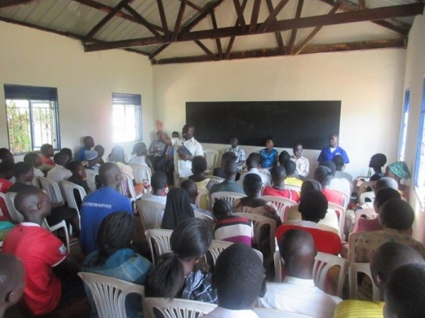 uganda classroom for vocation