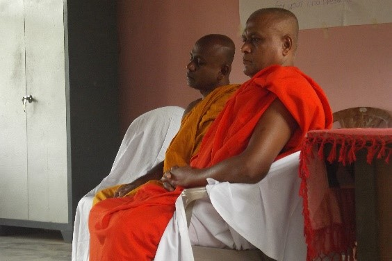 Soratha Thero and Vishuddhi Thero