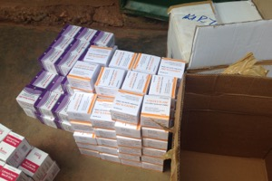 Medicines for the Panyadoli Health Centres