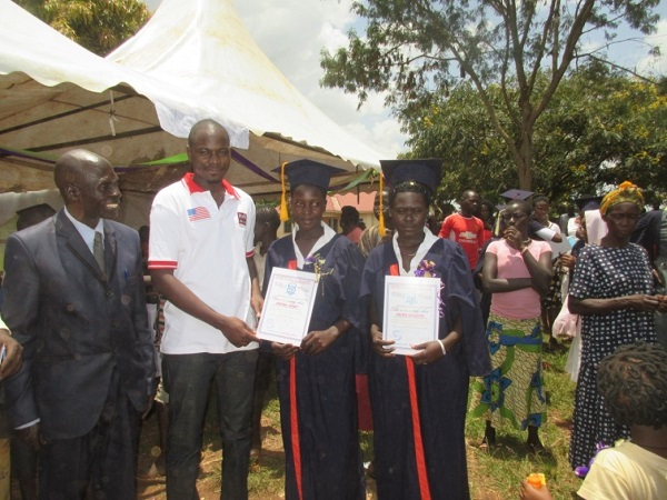 graduates from a vocational school