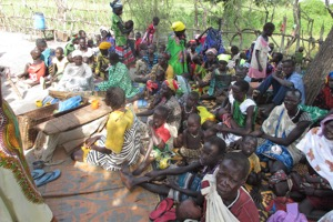 Beneficiaries attending health/nutrition education