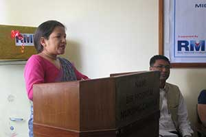 Associate Professor Bandana Thapa, master of ceremonies