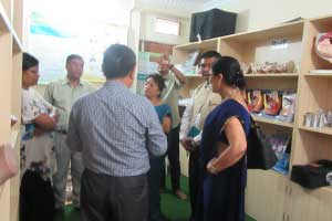 Visiting the RMF-supported midwifery skills lab