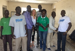 martina fuchs in south sudan