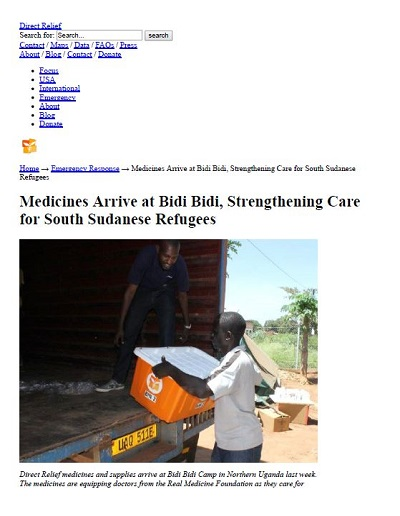 Real Medicine Foundation - pdf photos.