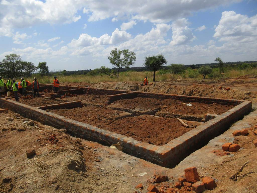 Construction begins at Bidibidi Refugee Settlement