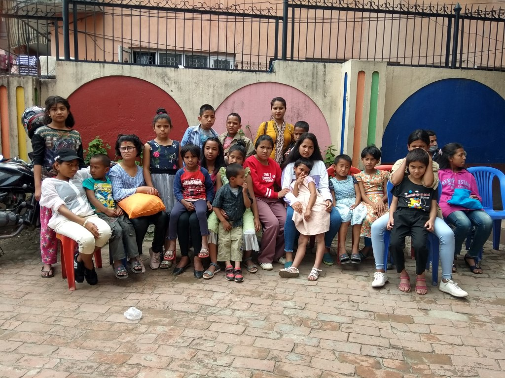 AS Nepal OS Q2 2019 Children at Naxal home
