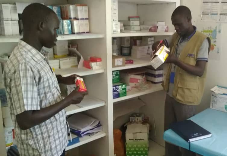 AF South Sudan MTP Q3 2019 RMFs M&E Coordinator, monitoring drug stock management system at stabilization especially utilization rates.