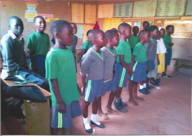 Students at the Precious Children's Centre