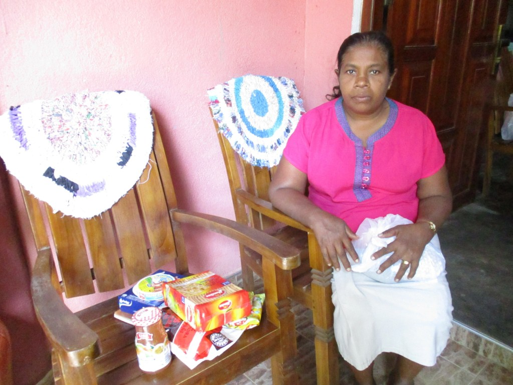 Maduras Mother with the Food Parcel